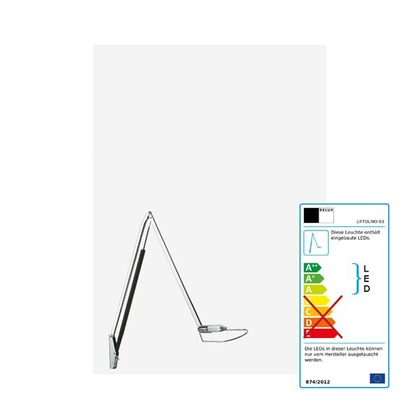 Tischleuchte Belux LIFTOLINO LED