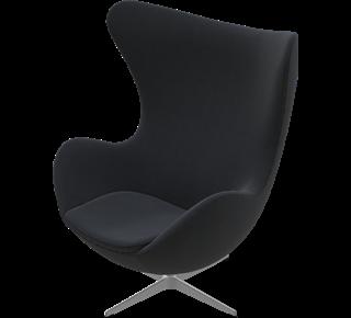 fritz hansen egg chair sessel das ei arne jacobsen. Black Bedroom Furniture Sets. Home Design Ideas