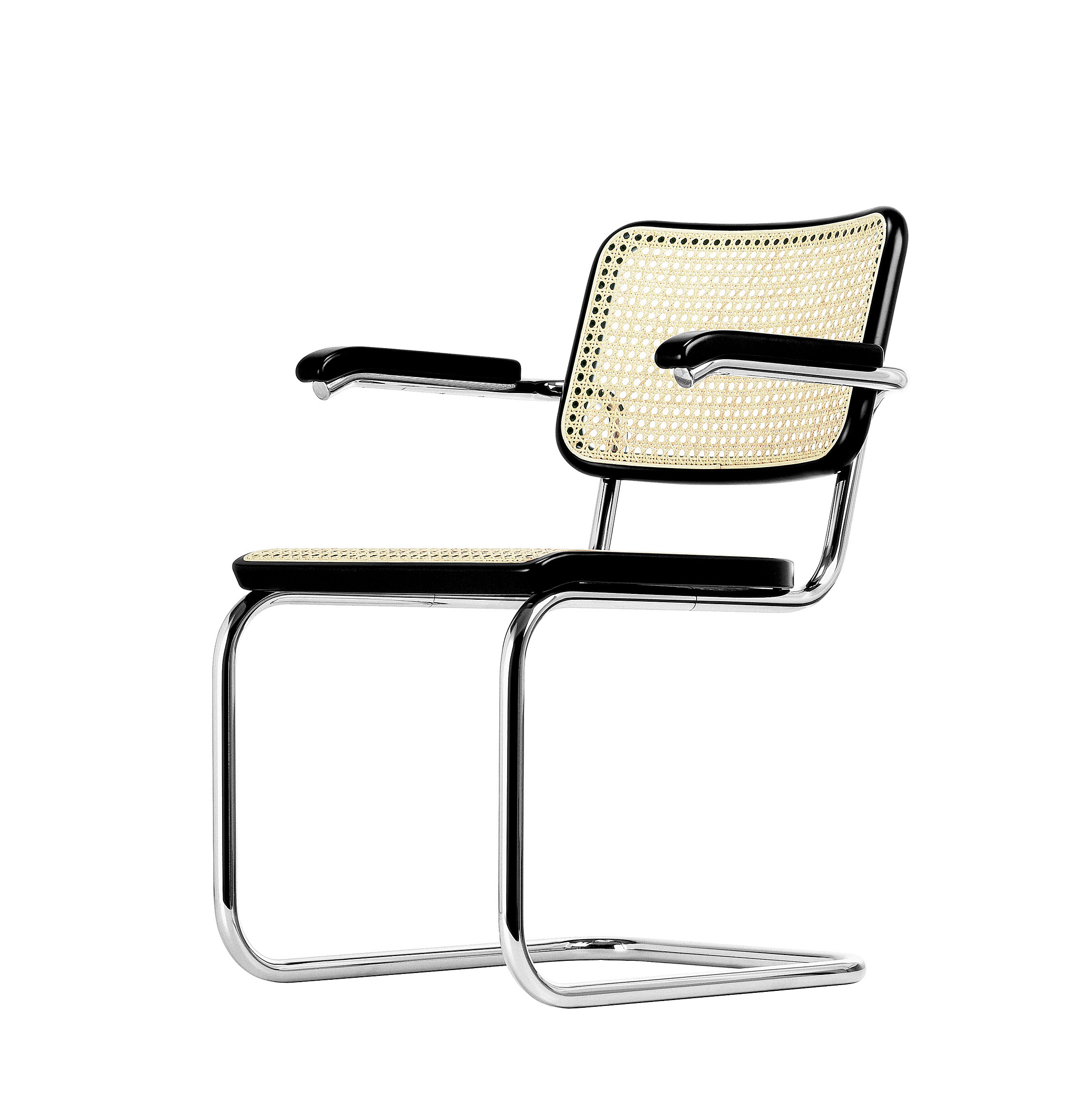 Thonet stuhl freischwinger s 64 pro office shop for Stuhl design thonet