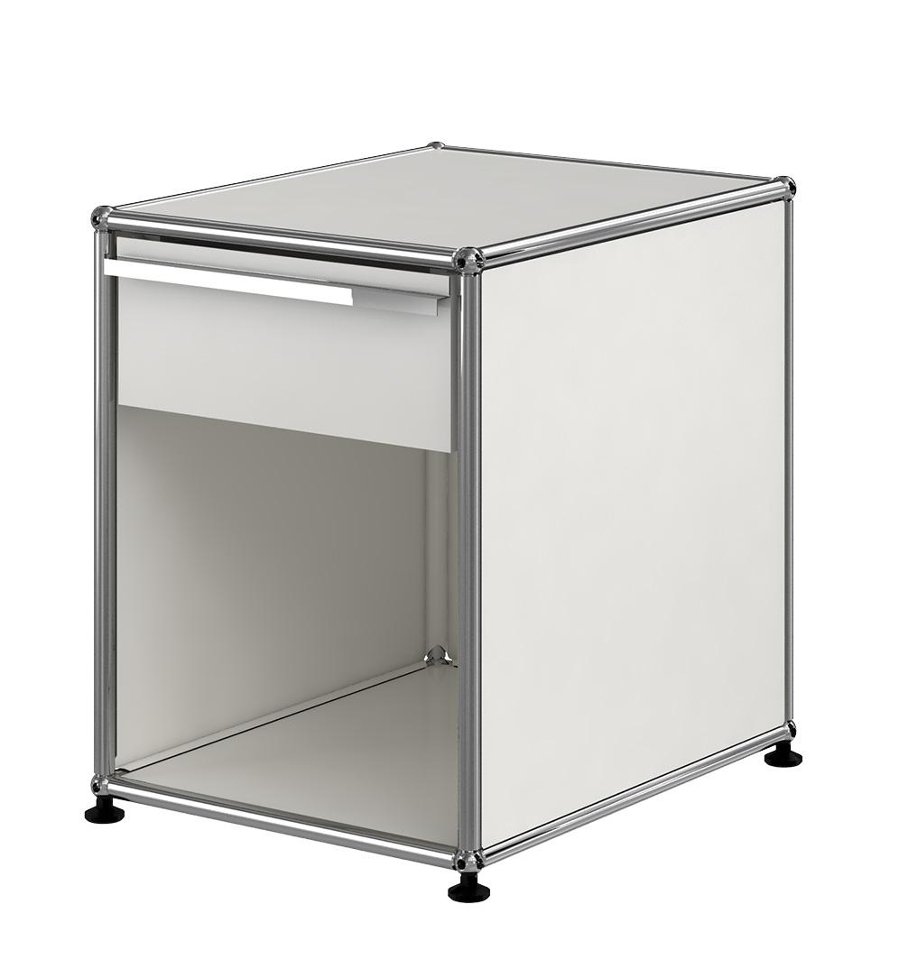 usm haller beistelltisch mit schublade bei pro office. Black Bedroom Furniture Sets. Home Design Ideas