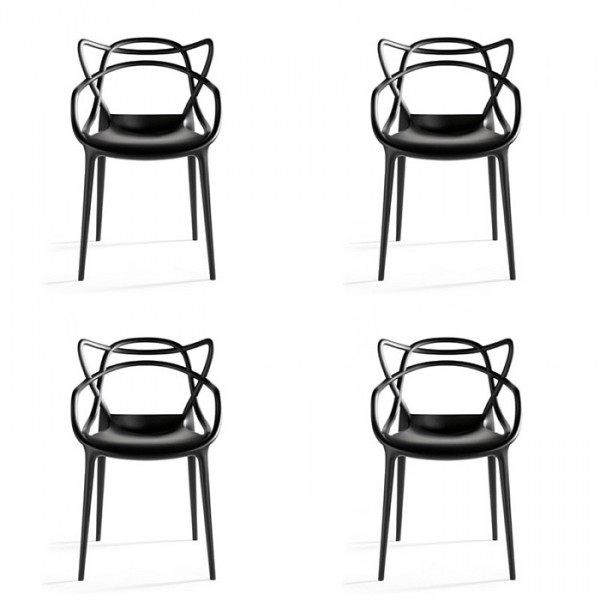 Masters Chair Stapelstuhl Design Phillippe Starck Im 4er Set