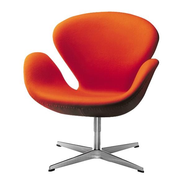 der schwan sessel swan chair bezug stoff tonus von. Black Bedroom Furniture Sets. Home Design Ideas