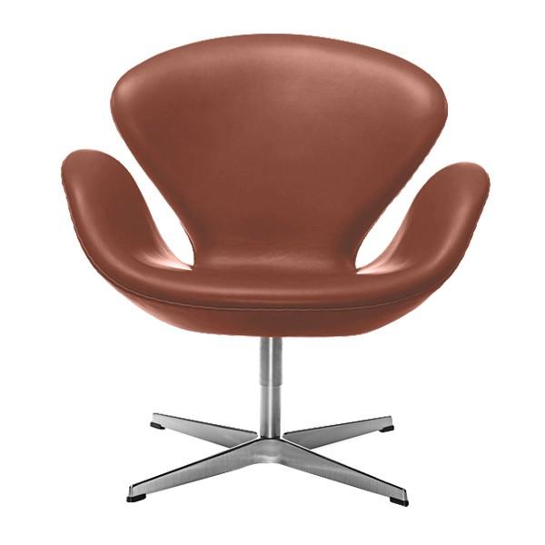 Der schwan swan chair sessel bezug leder von fritz hansen for Schwan sessel replica