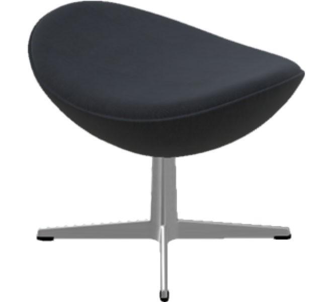fu hocker f r den sessel das ei egg chair bezug. Black Bedroom Furniture Sets. Home Design Ideas
