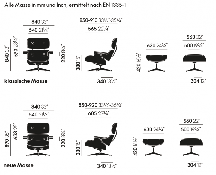 Vitra Lounge Chair Mit Ottoman Pro Office Shop