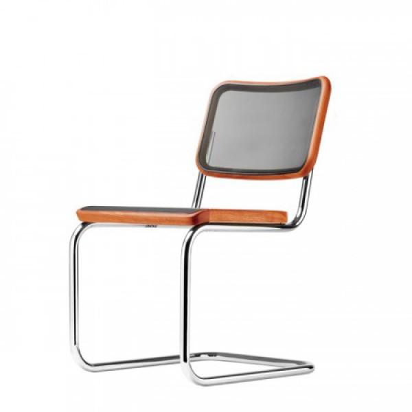 freischwinger stuhl thonet s 32 n pure materials. Black Bedroom Furniture Sets. Home Design Ideas
