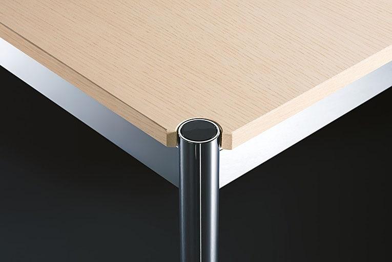 usm haller tisch holz verschiedene oberfl chen und gr en. Black Bedroom Furniture Sets. Home Design Ideas