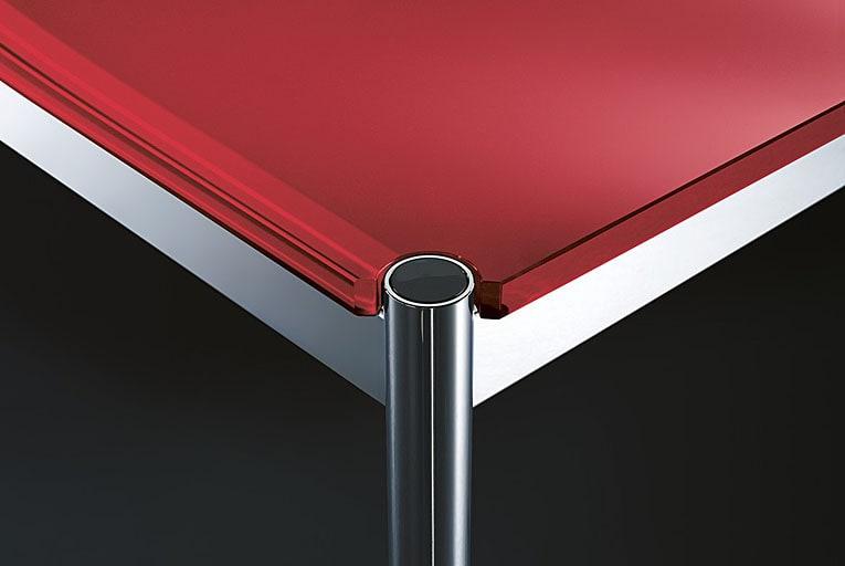 usm haller glastisch verschiedene gr en glas transparent. Black Bedroom Furniture Sets. Home Design Ideas